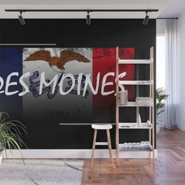 Des Moines Wall Mural