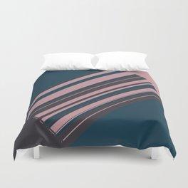 Rose stripes Duvet Cover