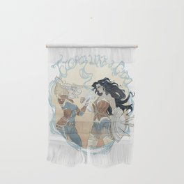 Super Powered: Fight Like a Girl Wall Hanging