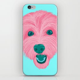 havanese - aqua iPhone Skin