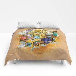The Fantastic Craft Coffee Contraption Suite - The Fantastic Craft Coffee Contraption Comforters