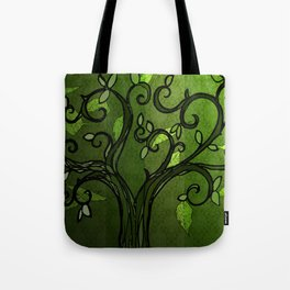 LEAVE - Summer Green Tote Bag