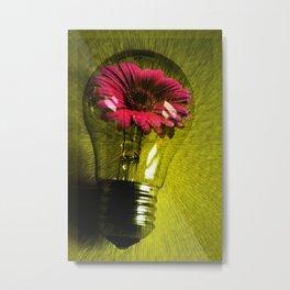 Flowering bulb  Metal Print