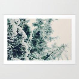 Snow So White Art Print