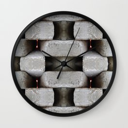 WALLS Dont Stop WARS Wall Clock