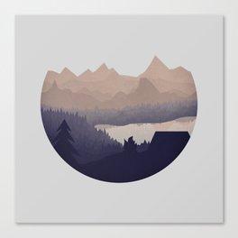 Remote Location Canvas Print