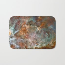 Star Birth and Death Hubble Telescope Photo Bath Mat