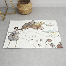 Robot Magic Rug