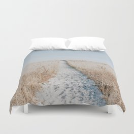 summer blues Duvet Cover