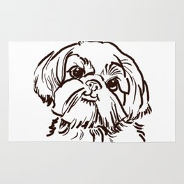 The sweet Shih Tzu dog love of my life! Rug