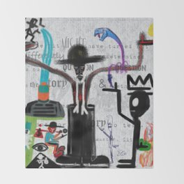 CITY OF GLASS: AMERICAN KABUKI Throw Blanket