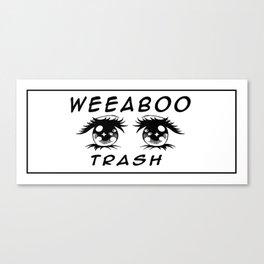 Weeaboo Trash Canvas Print