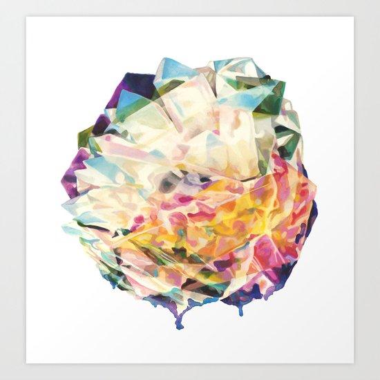 Gemstone II Glump Art Print