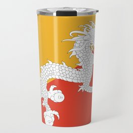 Bhuan flag Travel Mug