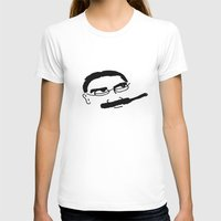 marx T-shirts featuring Groucho Marx Knit. by littlehomesteadco