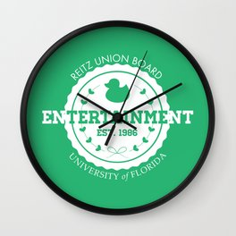 Reitz Union Board Entertainment at the University of Florida v. Mint Wall Clock