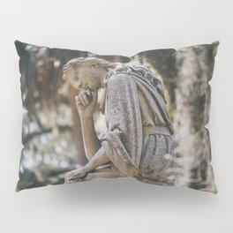 Bonaventure Cemetery - Statue of Eliza Wilhelmina Theus II Pillow Sham