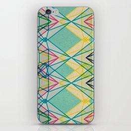 Diamonds CMYK iPhone Skin
