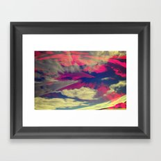 Signs in the Sky Collection - Visions Framed Art Print