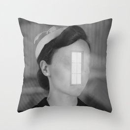 Look Throgh The Window Throw Pillow
