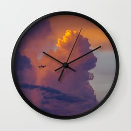 Glowing Escape Wall Clock