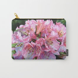 Courtenay Lady Rhododendron Carry-All Pouch