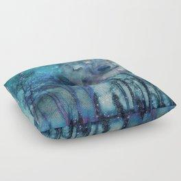 The Wild is Calling Floor Pillow