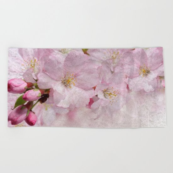 Cherry blossom #10 Beach Towel