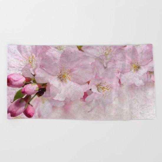 Cherry blossom #10 Beach Towel