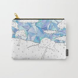 Skys of Blue Carry-All Pouch