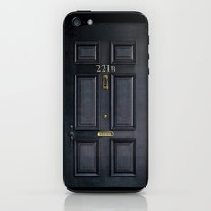 Classic Old sherlock holmes 221b door iPhone 4 4s 5 5c, ipod, ipad, tshirt, mugs and pillow case iPhone & iPod Skin