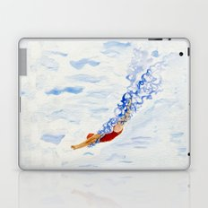 Swimmer - diving Laptop & iPad Skin
