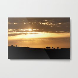 Somewhere, Sometime Metal Print