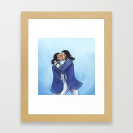 """""""In short, Laurens, I am disgusted with everything in this world but yourself"""" Framed Art Print"""