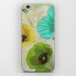 Poppy Shimmer II iPhone Skin