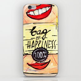 Bag of Happiness iPhone Skin