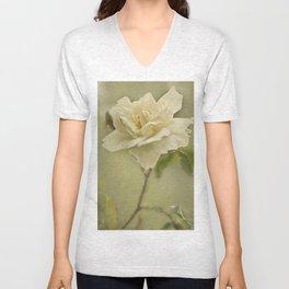 Vintage Rose Unisex V-Neck