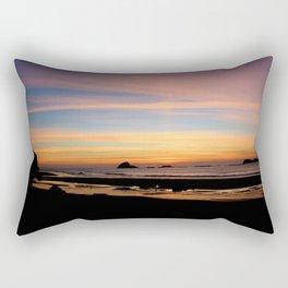 Pacific Northwest Sunset Rectangular Pillow