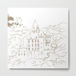 Castel Metal Print
