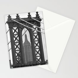 Empire State Building Photography Black & White Empire State Building Contest finalist Stationery Cards