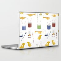 band Laptop & iPad Skins featuring Marching Band by S. Vaeth