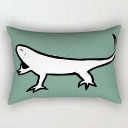 """Lagartijo"" Rectangular Pillow"