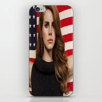 american iPhone & iPod Skins featuring American by Michelle Rosario