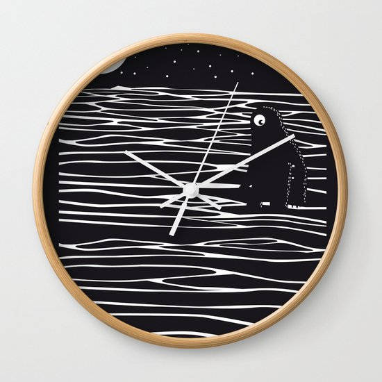 Scary monster! Wall Clock