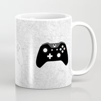xbox Mugs featuring Xbox One Controller by Tino-George