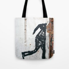 People Disappear, Right Before Our Eyes, Like Old Bricks In a Wall Tote Bag