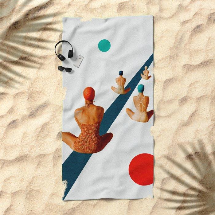 summer is ending Beach Towel