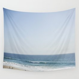 California Beach Day Wall Tapestry
