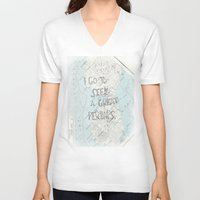 looking for alaska V-neck T-shirts featuring Looking for Alaska by Hoeroine