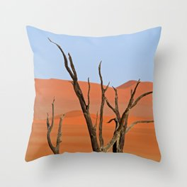 Deadvlei Throw Pillow